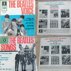 The Beatles Voice & Songs EPs - rare german singles in ex condition