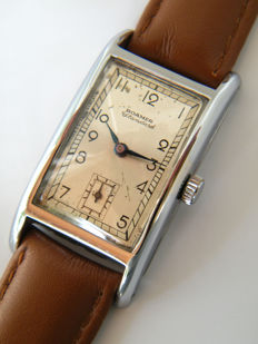 ROAMER STANDARD - Art Deco men's wristwatch from 1930s