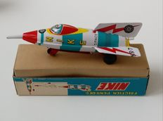 Masuya, Japan - length: 19,5 cm. - NIKE Rocket Space Tin Toy
