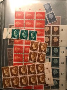 The Netherlands 1852/2001 - Batch from classic on in 4 stock albums