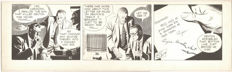 Raymond, Alex - Rip Kirby  - Original Comic Strip Art - Inked page - (1953)