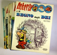 Asterix - 10x hardcover volumes (1972-1985)