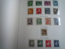 The Netherlands 1852/1986 - Collection in Unie album