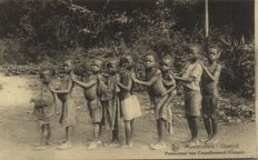 Belgian CONGO Africa 71 x - Various places, types and points of interest - one part are mission cards - 1910/1940