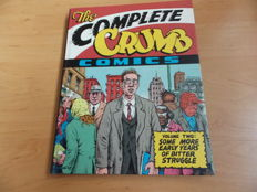 Robert Crumb - The Complete Crumb Comics - Volume 2 Signed, Limited Edition Hardcover - (1988)
