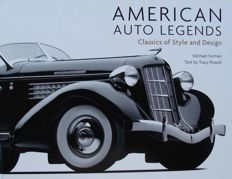 Book : American Auto Legends - Classics of Style and Design