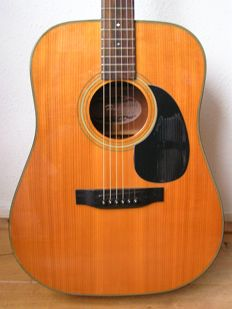 Fenix acoustic guitar type D-80SM by Young Chang made in Korea
