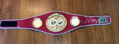 Floyd Mayweather Jr. Replica IBF Championship Belt No Reserve price !