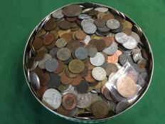 World - Lot of world coins (ca. 5 kg)