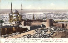 Egypt North Africa 56 x - various places and sights of which a number are pyramids - 1900/1940
