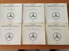 Mercedes Benz - set of 6 books