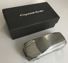 New PORSCHE CAYENNE TURBO 2018 - paperweight - solid model car