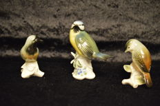 Karl Ens - 3 porcelain birds
