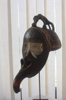 Beautiful Maou mask – DAN - Ivory Coast