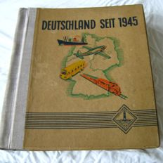 Leuchtturm stamp album - Germany after 1945