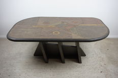 Unknown manufacturer –natural stone coffee table