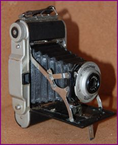 "Antique camera ""Coronet Rapide"" England WORKING AT 100%"