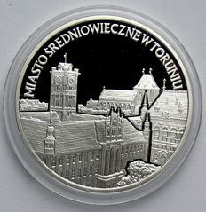 Poland - 20 Zlotych 2007 'The Historic Old Town of Torun / Thorn' - silver