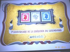 Luxembourg - Selection of 12 Commemorative/Anniversary/Souvenir Cards from 1939-1945