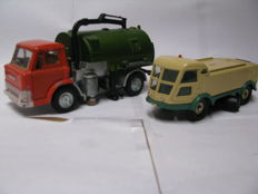 Dinky Toys - Scale 1/50 - Johnston Road Sweeper N° 451 & Sprinkle Sweeper N° 596