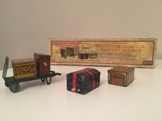 Hornby series / Meccano Ltd Liverpool - Miniature Luggage & Porter's Barrow - Track 0 - Year 1932
