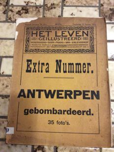 Extra number Antwerp bombarded