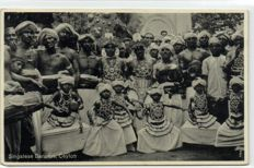 Ceylon, Types 36 X - Diverse types including tea pickers, Rickshaw, Tamils and Bengalese - 1900/1940