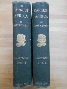 Henry M. Stanley - In Darkest Africa - 2 Volumes - 1891