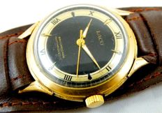 Laco men's watch, two-tone dial, around the 1950s