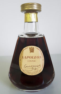 Courvoisier Napoléon - Baccarat decanter - 75cl Rare Old Cognac
