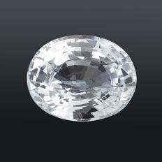 Sapphire - white (colourless) - 2.28 ct