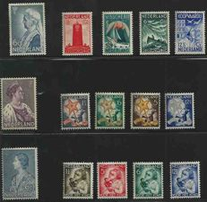 The Netherlands 1931/1934 - Five complete issues