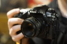 Nikon D200 with a 50 mm 1.8