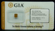 1.01ct. GIA Certified Natural Fancy Deep Brown-Yellow, Even Diamond - NO RESERVE