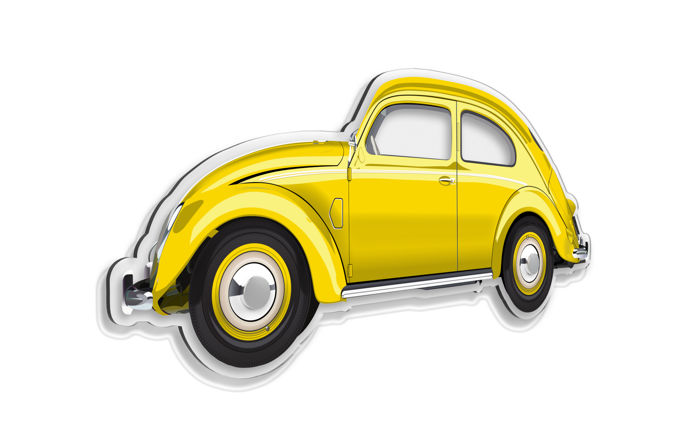 SL - Wall Scale Model Halmo Collection VW BEETLE
