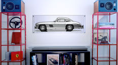 TL - Halmo Collection Mercedes 300 SL Plexiglas Panel