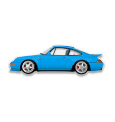 SL - Wall Scale Model Halmo Collection Porsche 993 RS Touring