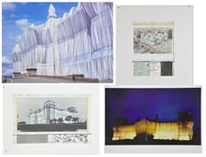 4 x Christo - Wrapped Reichstag