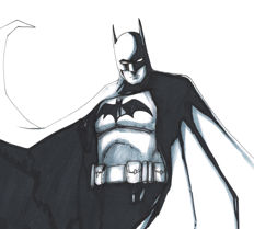Livio Ramondelli - Original Drawing - Batman