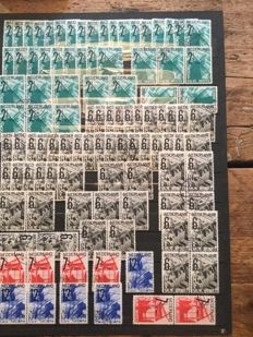 Netherlands 1932 - ANVV stamps in numbers - NVPH 244/247