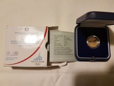 Italy - 20 Euro 2006 - Winter Olympics of Turin - Second mintage - Gold