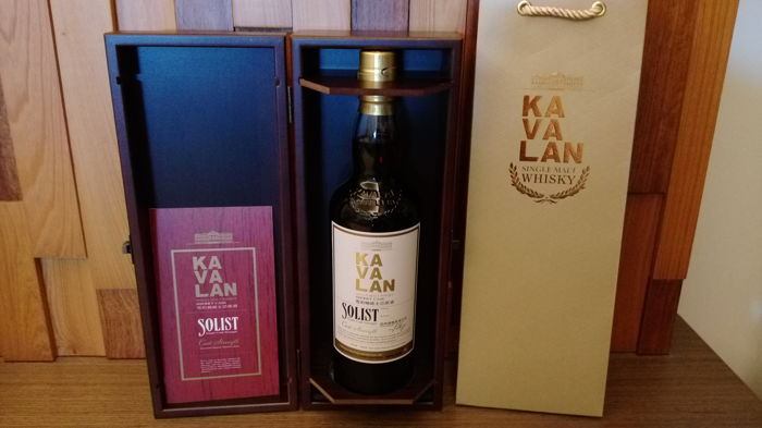 Kavalan Solist Eva Air Exclusive Sherry cask