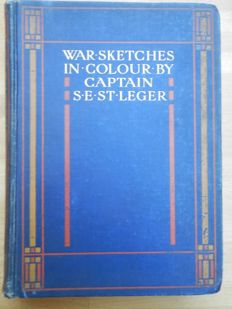 S.E. St Leger - War Sketches in Colour (The Boer War ) - 1903