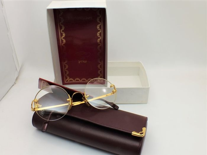 1eb67d8e784 Cartier Madison eyeglasses excellent unused - Vintage rare - Catawiki