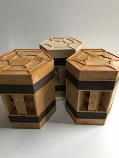 Samuel Meijering in cooperation with Gied Jaspers for Rolykit - three Rolykit storage crates