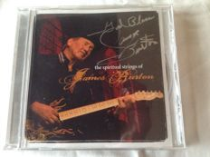 James Burton - the spiritual strings of James Burton with signature