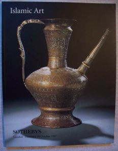 Lot with 7 auction catalogues Islamic and Indian art Sotheby's London - 1992/1997.