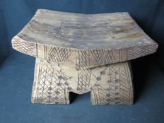 Antique tribal African Chair - D.R. Congo