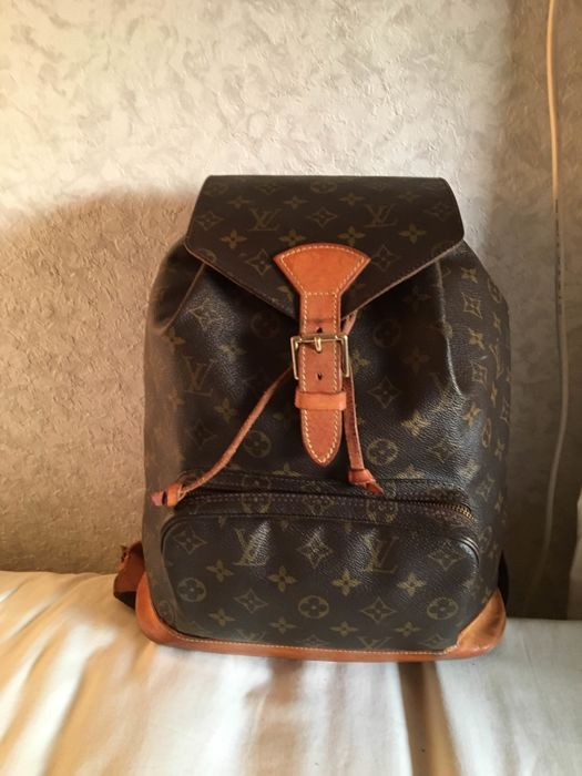 Louis Vuitton - Montsouris backpack - Catawiki 896d21ead26