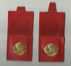 2 medals of comemoration 1918-1968 in tribute to the Val de Marne